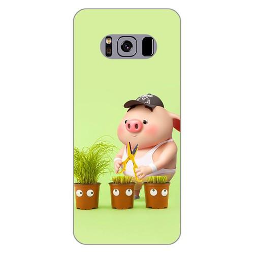Ốp lưng điện thoại samsung galaxy s8 plus - Pig 21