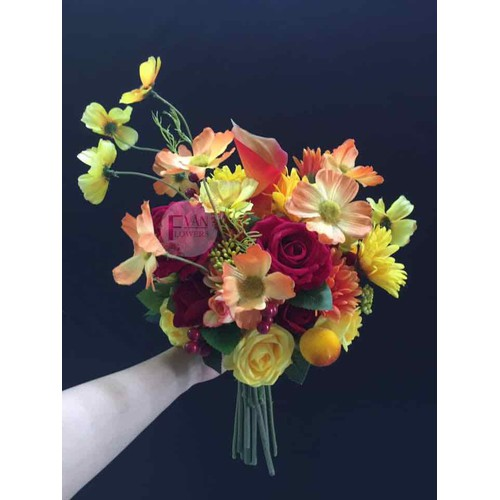 Hoa cưới hoa cô dâu bằng hoa vải hoa lụa cao cấp - HCU215 - 7091036 , 16998005 , 15_16998005 , 665000 , Hoa-cuoi-hoa-co-dau-bang-hoa-vai-hoa-lua-cao-cap-HCU215-15_16998005 , sendo.vn , Hoa cưới hoa cô dâu bằng hoa vải hoa lụa cao cấp - HCU215