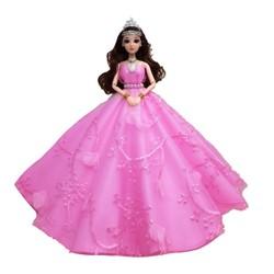 Búp Bê Cô Dâu Váy Ren Đính Ngọc + Tặng Phụ Kiện + 3 Váy Ngắn
