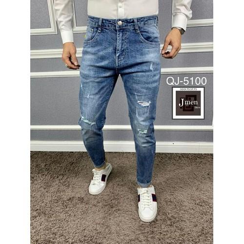 Quần jean nam kiểu dáng hiện đại