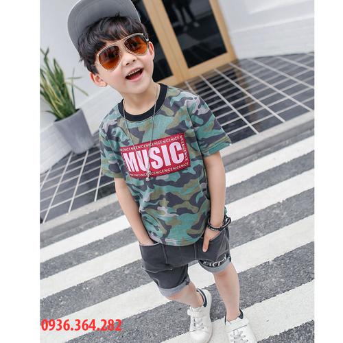Quần áo ran ri cho bé - Bộ đồ cho bé trai