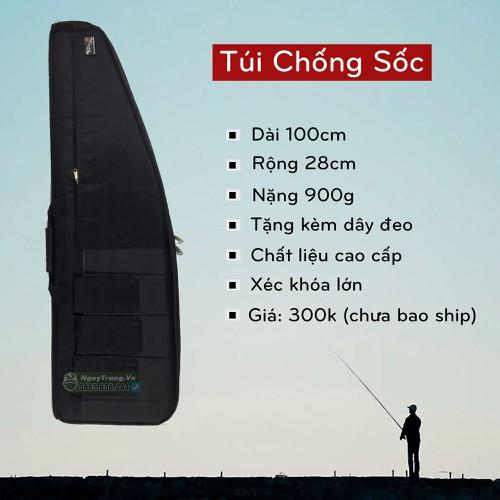 Túi chống sốc đựng cần câu cá dài 1 mét vát chéo miệng - 7098124 , 17003680 , 15_17003680 , 310000 , Tui-chong-soc-dung-can-cau-ca-dai-1-met-vat-cheo-mieng-15_17003680 , sendo.vn , Túi chống sốc đựng cần câu cá dài 1 mét vát chéo miệng
