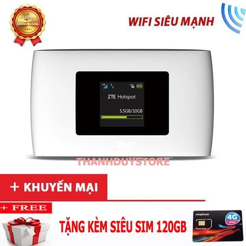 Thiết Bị Mạng Wifi Maxis MF920W - Tặng Kèm Sim Cực Khủng