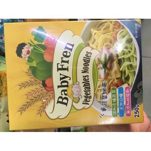 Mì rau củ nội địa Nhật Baby Fren 250g