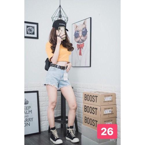 Quần short jean nữ trẻ trung nhẹ nhàng