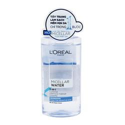 Nước tẩy trang tươi mát LOreal  Micellar Water 3-in-1 Refreshing Even For Sensitive Skin 95ml Dành cho da dầu và da hỗn hợp