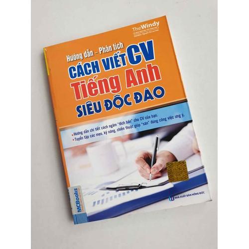 Sách hướng dẫn phân tích cách viết cv tiếng anh siêu độc đáo - 7115906 , 17016721 , 15_17016721 , 58000 , Sach-huong-dan-phan-tich-cach-viet-cv-tieng-anh-sieu-doc-dao-15_17016721 , sendo.vn , Sách hướng dẫn phân tích cách viết cv tiếng anh siêu độc đáo