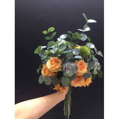 Hoa cưới hoa cô dâu bằng hoa vải hoa lụa cao cấp - HCU231 - 4786554 , 17007522 , 15_17007522 , 535000 , Hoa-cuoi-hoa-co-dau-bang-hoa-vai-hoa-lua-cao-cap-HCU231-15_17007522 , sendo.vn , Hoa cưới hoa cô dâu bằng hoa vải hoa lụa cao cấp - HCU231