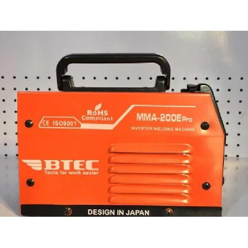 máy hàn điện tử mini BTEC MMA 200e pro