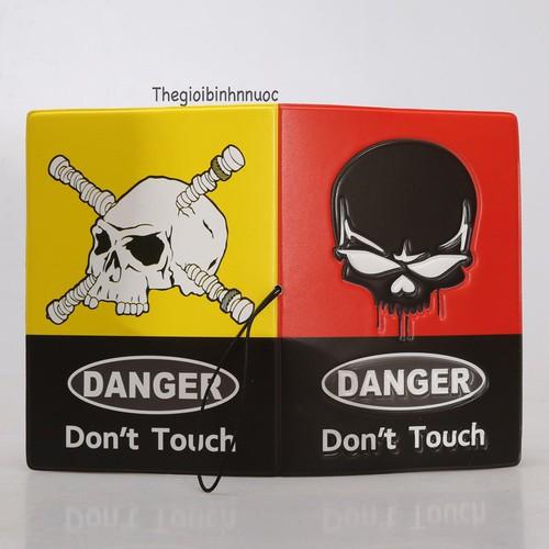 Vỏ Bọc Hộ Chiếu Passport Cover Danger Don
