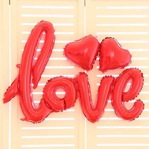 Bóng chữ Love liền kèm keo dán Màu đỏ - 7091748 , 16998791 , 15_16998791 , 25000 , Bong-chu-Love-lien-kem-keo-dan-Mau-do-15_16998791 , sendo.vn , Bóng chữ Love liền kèm keo dán Màu đỏ