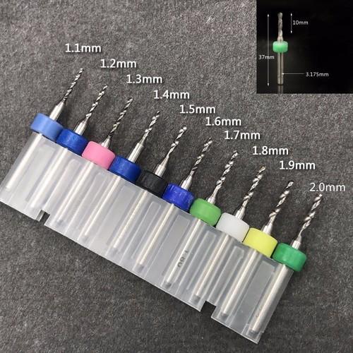 Bộ 10 mũi khoan PCB 1.1-2.0mm - 7089083 , 16996241 , 15_16996241 , 215000 , Bo-10-mui-khoan-PCB-1.1-2.0mm-15_16996241 , sendo.vn , Bộ 10 mũi khoan PCB 1.1-2.0mm