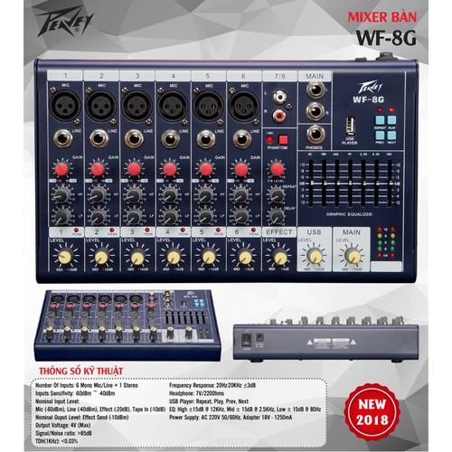 Mixer bàn WF-8G