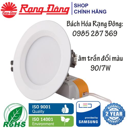 Đèn LED Âm Trần Rạng Đông 7W Փ 90mm, Đổi 3 Màu, Vỏ Nhôm Đúc, SAMSUNG ChipLED DAT02L - 7113877 , 17015292 , 15_17015292 , 157000 , Den-LED-Am-Tran-Rang-Dong-7W-90mm-Doi-3-Mau-Vo-Nhom-Duc-SAMSUNG-ChipLED-DAT02L-15_17015292 , sendo.vn , Đèn LED Âm Trần Rạng Đông 7W Փ 90mm, Đổi 3 Màu, Vỏ Nhôm Đúc, SAMSUNG ChipLED DAT02L