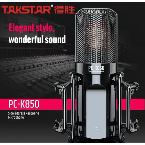 Micro thu âm hát livestream cao cấp Takstar PC-K850 chính hãng - 7093680 , 16999965 , 15_16999965 , 4850000 , Micro-thu-am-hat-livestream-cao-cap-Takstar-PC-K850-chinh-hang-15_16999965 , sendo.vn , Micro thu âm hát livestream cao cấp Takstar PC-K850 chính hãng