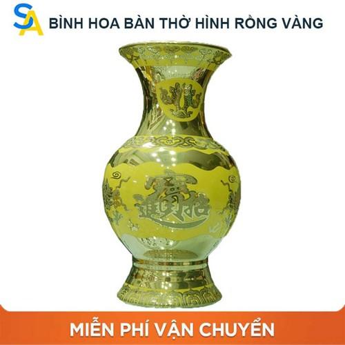 Bình hoa trang trí bàn thờ rồng vàng 3D cao 18 cm , Bình bông gốm sứ đẹp cúng thần tài, Bình bông bát tràng sứ - 7127440 , 17022982 , 15_17022982 , 185000 , Binh-hoa-trang-tri-ban-tho-rong-vang-3D-cao-18-cm-Binh-bong-gom-su-dep-cung-than-tai-Binh-bong-bat-trang-su-15_17022982 , sendo.vn , Bình hoa trang trí bàn thờ rồng vàng 3D cao 18 cm , Bình bông gốm sứ đẹp