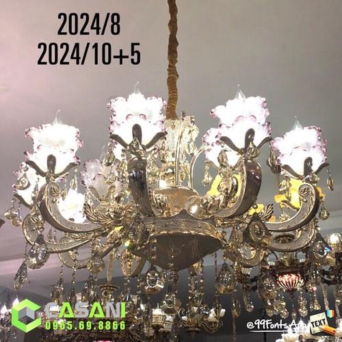 Đèn Chùm Pha Lê CCP-2024-15