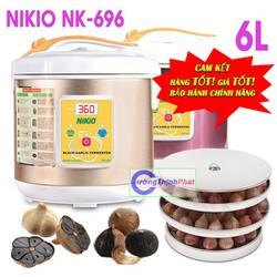 Máy Làm Tỏi Đen Nikio NK 696 Nhật Bản Loại Tốt Vàng Gold