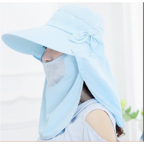 mũ chống nắng 360 độ, mũ khẩu trang, nón rộng vành chống nắng cao cấp - 4621288 , 17019543 , 15_17019543 , 155000 , mu-chong-nang-360-do-mu-khau-trang-non-rong-vanh-chong-nang-cao-cap-15_17019543 , sendo.vn , mũ chống nắng 360 độ, mũ khẩu trang, nón rộng vành chống nắng cao cấp