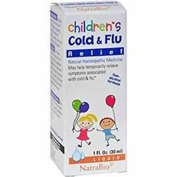 Siro Trị Cảm Cúm Cho Bé - Children's Cold & Flu Relief
