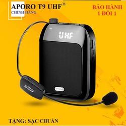 Loa trợ giảng không dây Aporo T9 UHF chính hãng  - check mã QRcode