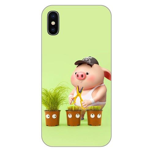 Ốp lưng điện thoại iphone X - Pig 21