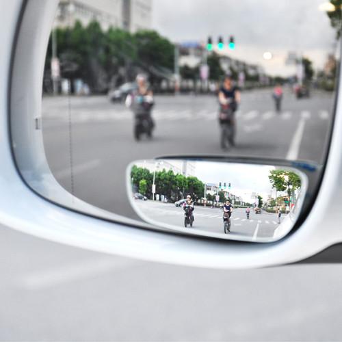 Gương cầu lồi 360 có hình bầu dục dùng cho ô tô