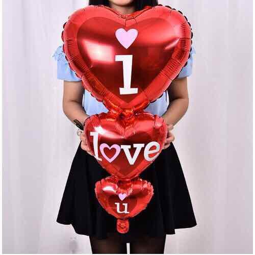 Bóng trái tim hình chuỗi