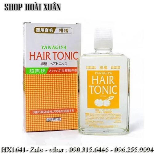 Tinh dầu mọc tóc bưởi giảm rụng tóc Yanagiya Hair Tonic Nhật Bản 240ml - HX1641