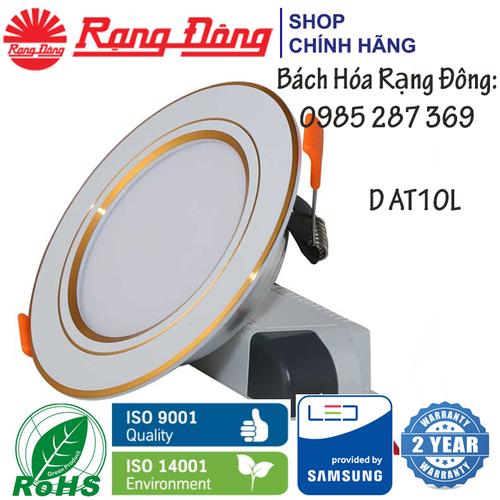 Đèn LED Âm Trần Downlight Rạng Đông 9W Փ110, Viền Vàng, Vỏ Nhôm Đúc, Chipled Samsung D AT10L - 7109366 , 17011937 , 15_17011937 , 147000 , Den-LED-Am-Tran-Downlight-Rang-Dong-9W-110-Vien-Vang-Vo-Nhom-Duc-Chipled-Samsung-D-AT10L-15_17011937 , sendo.vn , Đèn LED Âm Trần Downlight Rạng Đông 9W Փ110, Viền Vàng, Vỏ Nhôm Đúc, Chipled Samsung D AT