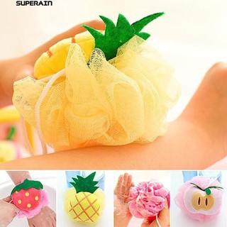 bông tắm hình trái cây - bông tắm thumbnail