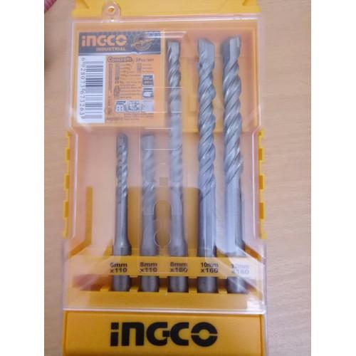 Bộ 5 mũi khoan bê tông đuôi gài INGCO AKD2052 - 7094169 , 17000380 , 15_17000380 , 1200000 , Bo-5-mui-khoan-be-tong-duoi-gai-INGCO-AKD2052-15_17000380 , sendo.vn , Bộ 5 mũi khoan bê tông đuôi gài INGCO AKD2052