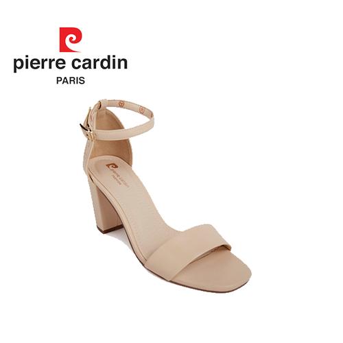 Giày sandal cao gót Pierre Cardin PCWFWSC091BEG màu be