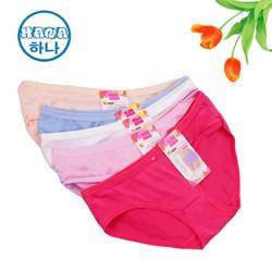 ĐƯỢC XEM HÀNG- SỈ Combo 10 quần lót nữ vải cotton siêu đẹp nhiều màu freesize dưới 55 kg, quần lót giá rẻ