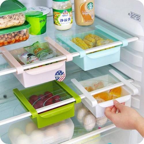Khay kéo để đồ tiết kiệm tủ lạnh