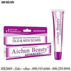 Gel trị sẹo lồi - sẹo lõm - sẹo thâm Aichun beauty Advanced Scar Gel - HX2069