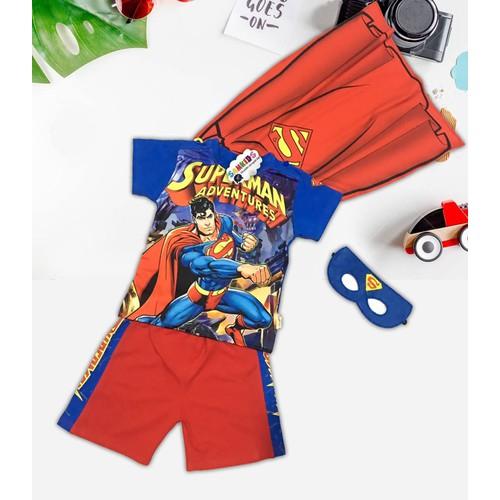 Bộ quần áo siêu nhân Supermankèm áo choàng và mặt nạ cho bé trai - 7172082 , 17045724 , 15_17045724 , 170000 , Bo-quan-ao-sieu-nhan-Supermankem-ao-choang-va-mat-na-cho-be-trai-15_17045724 , sendo.vn , Bộ quần áo siêu nhân Supermankèm áo choàng và mặt nạ cho bé trai