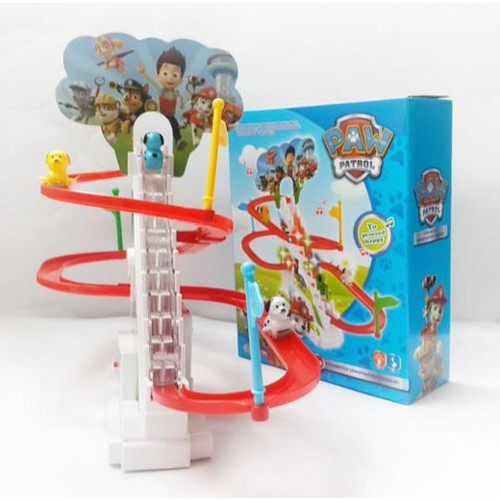 Bộ đồ chơi đường đua Paw Patrol cho bé