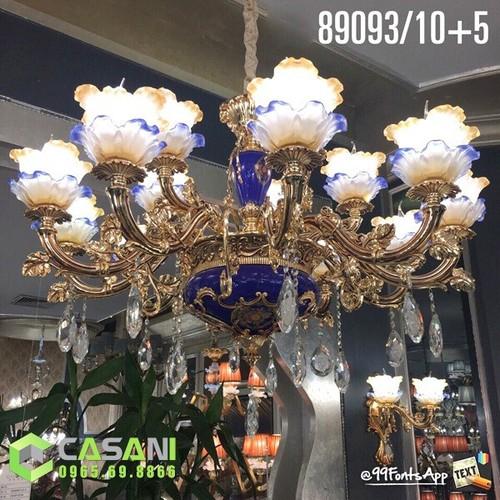 Đèn Chùm Đồng CCD-89093-15