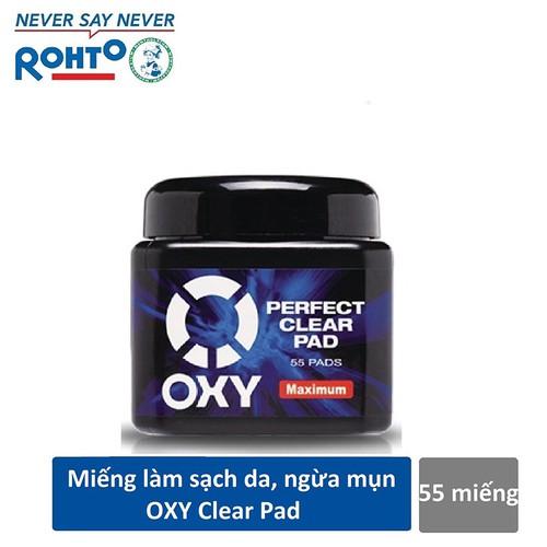 Miếng làm sạch da mặt ngăn ngừa mụn Oxy Perfect Clear Pad 55 miếng - 7158597 , 17039700 , 15_17039700 , 85000 , Mieng-lam-sach-da-mat-ngan-ngua-mun-Oxy-Perfect-Clear-Pad-55-mieng-15_17039700 , sendo.vn , Miếng làm sạch da mặt ngăn ngừa mụn Oxy Perfect Clear Pad 55 miếng