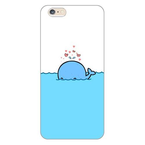 Ốp lưng điện thoại iphone 6 plus - Dolphin 02