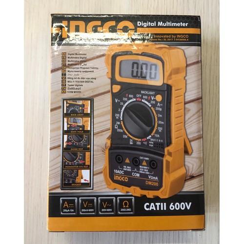 Đồng hồ đo điện vạn năng Ingco DM200