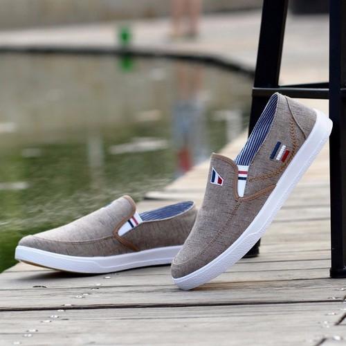 Giày lười vải nam phong cách Hàn quốc - 7147917 , 17033266 , 15_17033266 , 250000 , Giay-luoi-vai-nam-phong-cach-Han-quoc-15_17033266 , sendo.vn , Giày lười vải nam phong cách Hàn quốc