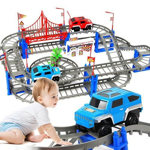 Mô hình lắp ráp đường ray xe ô tô cho bé - 7152851 , 17036926 , 15_17036926 , 169000 , Mo-hinh-lap-rap-duong-ray-xe-o-to-cho-be-15_17036926 , sendo.vn , Mô hình lắp ráp đường ray xe ô tô cho bé