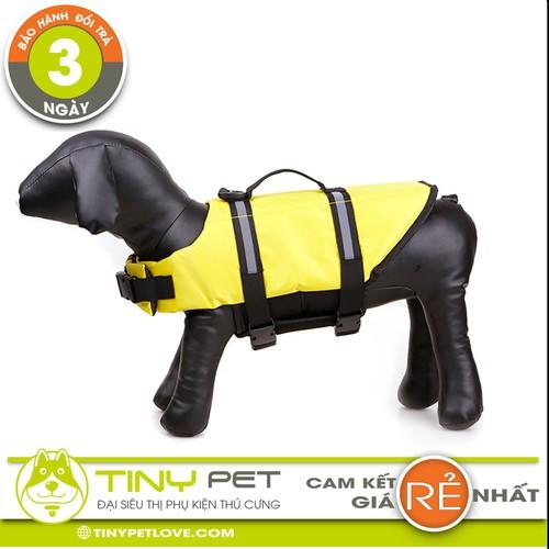 Áo Phao Bơi Cao Cấp - Đồ Bơi Cứu Sinh Cho Chó - Đại Siêu Thị Phụ Kiện Thú Cưng TinyPetlLove