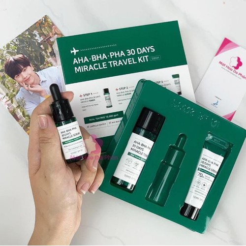 Bộ Kit 3 món Trị Mụn Some By Mi AHA- BHA-PHA 30 Days Miracle Set - 7149354 , 17034554 , 15_17034554 , 320000 , Bo-Kit-3-mon-Tri-Mun-Some-By-Mi-AHA-BHA-PHA-30-Days-Miracle-Set-15_17034554 , sendo.vn , Bộ Kit 3 món Trị Mụn Some By Mi AHA- BHA-PHA 30 Days Miracle Set