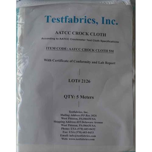AATCC crock cloth 5m pack vải chà xát thử nghiệm