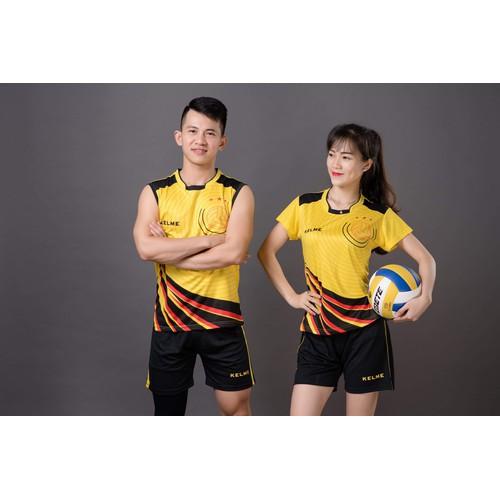 Bộ quần áo bóng chuyền nam nữ KELME màu vàng - 4788665 , 17036397 , 15_17036397 , 259000 , Bo-quan-ao-bong-chuyen-nam-nu-KELME-mau-vang-15_17036397 , sendo.vn , Bộ quần áo bóng chuyền nam nữ KELME màu vàng