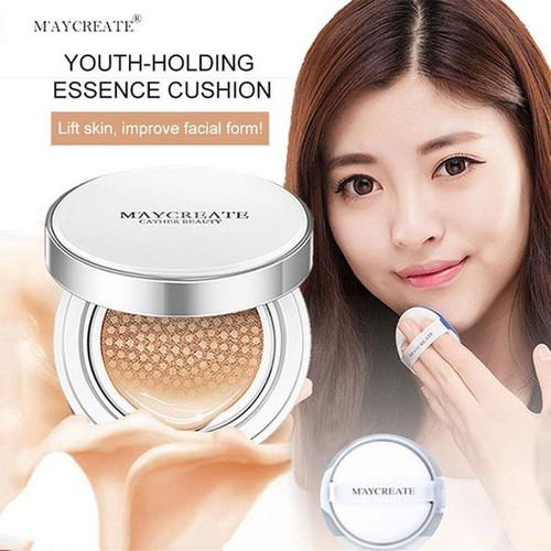 [CHÍNH HÃNG] Phấn nước Hàn Quốc Cushion Maycreate dưỡng ẩm che khuyết điểm da sáng tự nhiên JS68