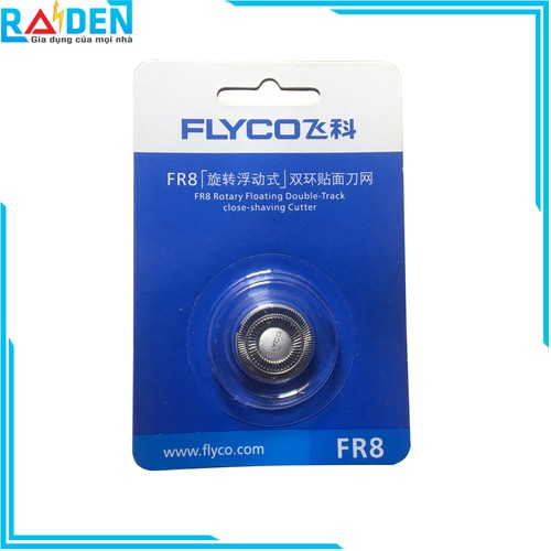 Bộ 3 lưỡi dao máy cạo râu Flyco FR8 - 7154786 , 17037653 , 15_17037653 , 199000 , Bo-3-luoi-dao-may-cao-rau-Flyco-FR8-15_17037653 , sendo.vn , Bộ 3 lưỡi dao máy cạo râu Flyco FR8